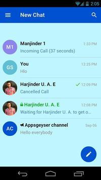 T-Chat Messenger screenshot 1