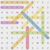 Kollywood (Tamil) Movies Word Search Puzzle Game icon