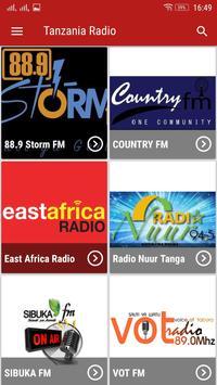 Tanzania Radio poster