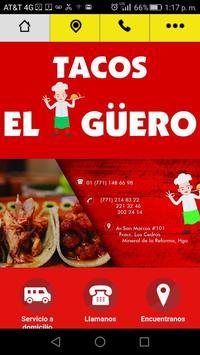 Tacos El Güeroo poster