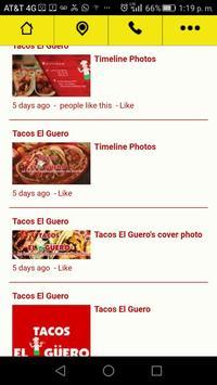 Tacos El Güeroo apk screenshot