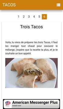 Tacos viande screenshot 1