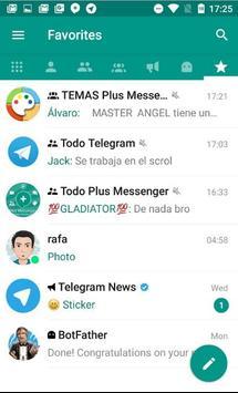 Talk Messenger App. poster