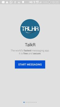 TalkR poster