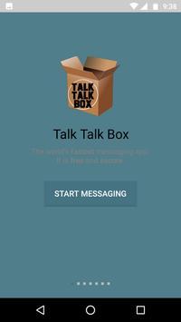 Talk Talk  Box poster