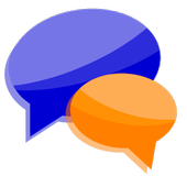 Talk to me - Chat app icon