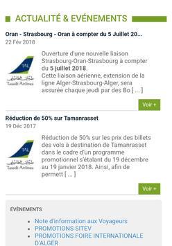 Tassili airlines apk screenshot