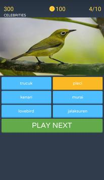 Guess the bird image screenshot 4