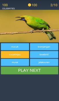 Guess the bird image screenshot 1