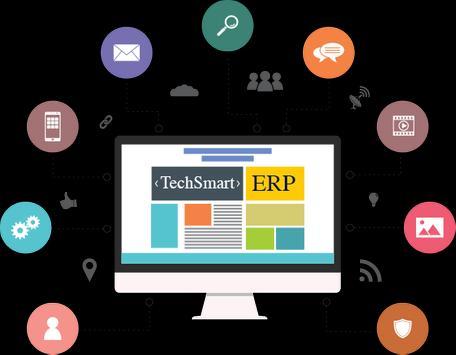 TechSmart ERP Student poster