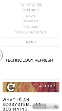 Technology Refresh apk screenshot
