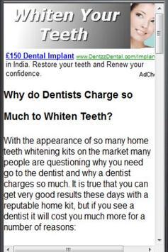 Teeth Whitening At Home apk screenshot
