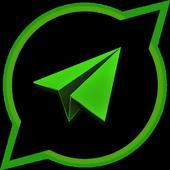 Telegram S иконка