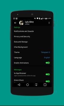 Telegram S скриншот 4