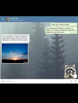 Tesbook massanger screenshot 4
