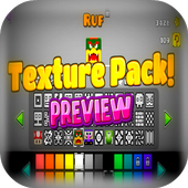 Texture pack for geometry dash icon