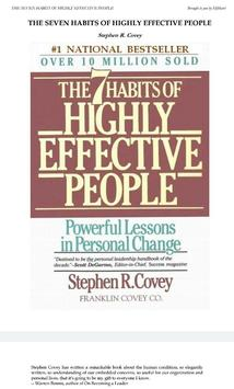 The 7 Habits of Highly Effective People apk screenshot