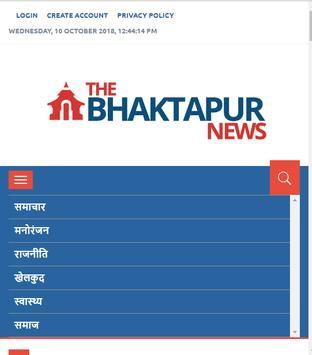 The Bhaktapur News screenshot 1