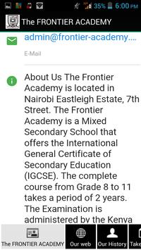 The Frontier Academy Eastleigh apk screenshot