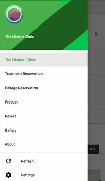The Lifskyn clinic poster