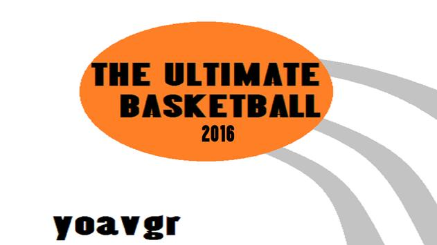 The Ultimate Basketball 2016 poster