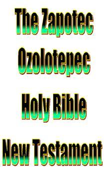 Zapotec Ozolotepec Holy Bible poster