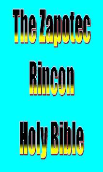 The Zapotec Rincon Holy Bible poster