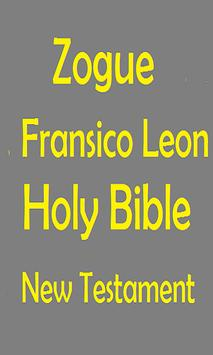 ZOGUE FRANSICO LEON HOLY BIBLE poster