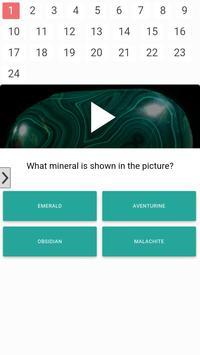 Mineral quiz! poster