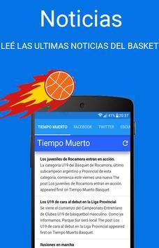 Tiempo Muerto Basquet poster