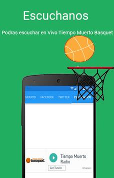 Tiempo Muerto Basquet apk screenshot