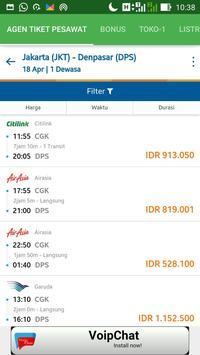 Jadwal Penerbangan Pesawat Indonesia Murah screenshot 3