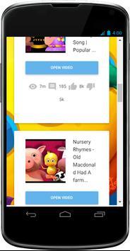 Top Nursery Rhymes Videos apk screenshot