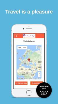 Travel Map apk screenshot