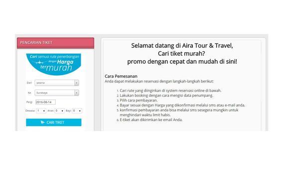 Travelaira apk screenshot