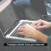 Trabajos para hacer en casa por internet icon