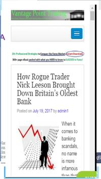 Learn Forex Trading No loss poster