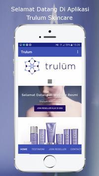 Trulum Skincare poster