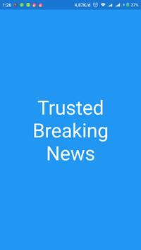 Trusted Breaking News poster