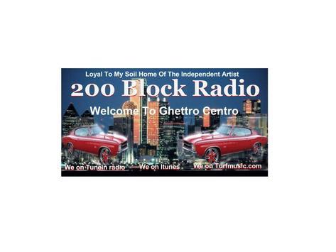 Ghettro Centro 200 Block Radio poster