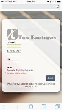 Tus Facturas poster