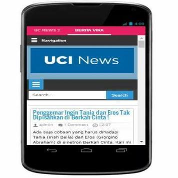UCI News - Baca Berita Terupdate 2017 screenshot 1