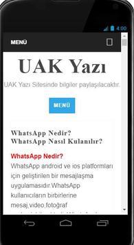 UAK Yazı screenshot 1
