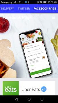 UBER FOOD DELIVERY screenshot 2