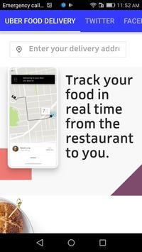 UBER FOOD DELIVERY screenshot 4