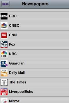 Startpage mobile UK screenshot 1