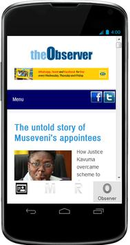 Ugandan News apk screenshot
