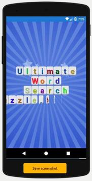Ultimate Word Search Puzzle poster