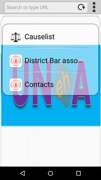 UNA Courts H.P apk screenshot