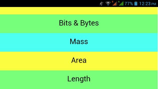 Unit Converter Z screenshot 6
